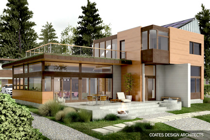 Design rendering for the Yeomalt Point home