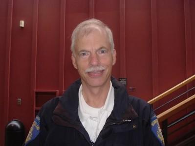 Contributed photo Bainbridge Island Parking Enforcement officer Ken Lundgren