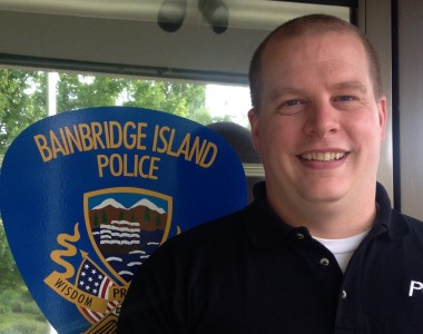 "Contributed photo / City of Bainbridge Island ""Joining the BIPD is a great opportunity for me to give back and serve the community I was raised in,"" says Jon Bingham, Bainbridge Island's newest police officer."