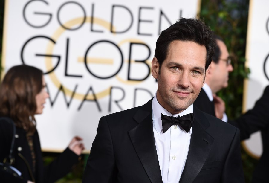 Paul Rudd will be starring as main character in an adaptation of a local author's novel. AP PHOTO