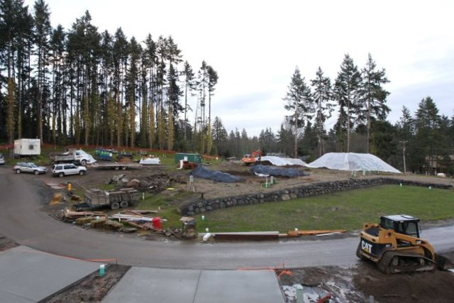 The first phase of Ferncliff Village development. (Brad Camp/Special to the Kitsap Sun)