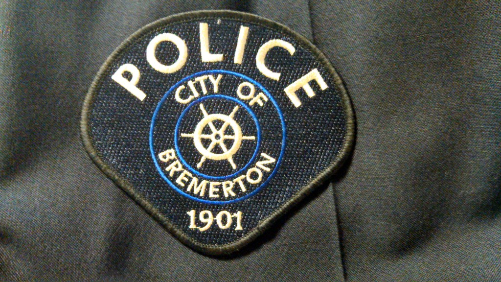 Bremerton police patch.