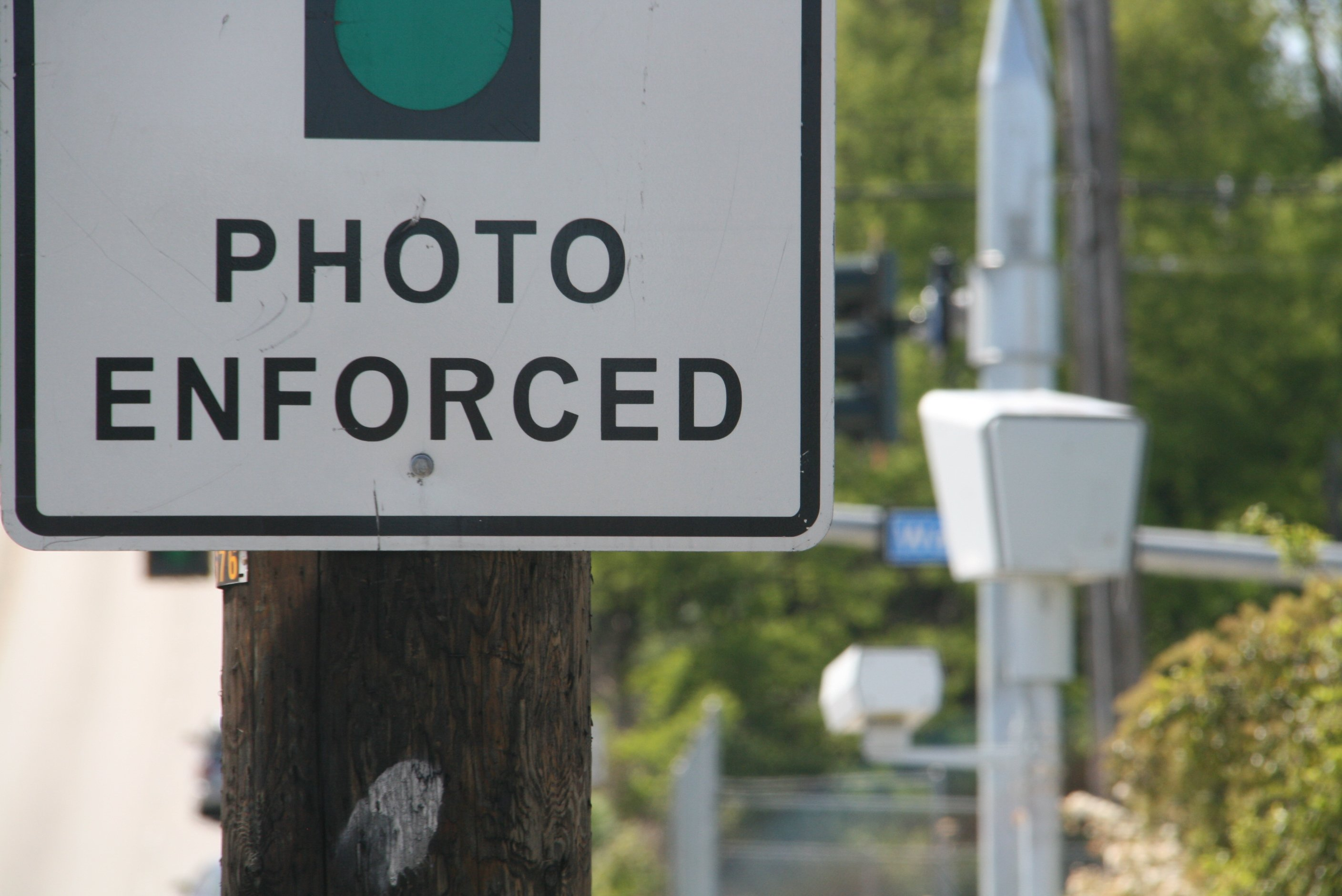 how to tell if red light camera caught you