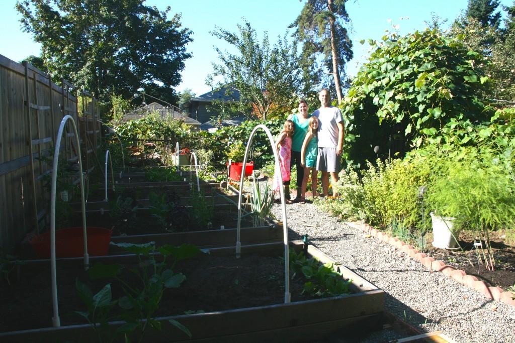 The Howell Family Garden.