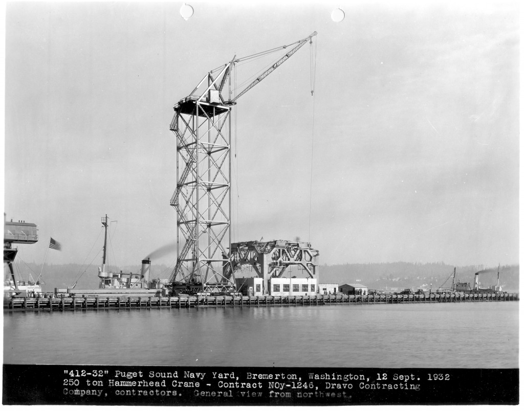 Photo courtesy of Puget Sound Naval Shipyard.