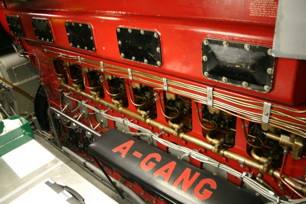 """A timeless diesel engine, part of what makes her a """"classic."""""""