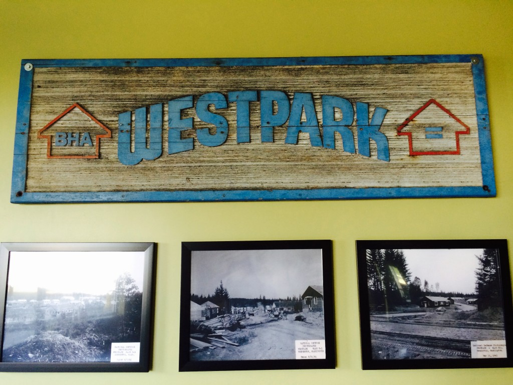The old Westpark sign remains in The Summit.