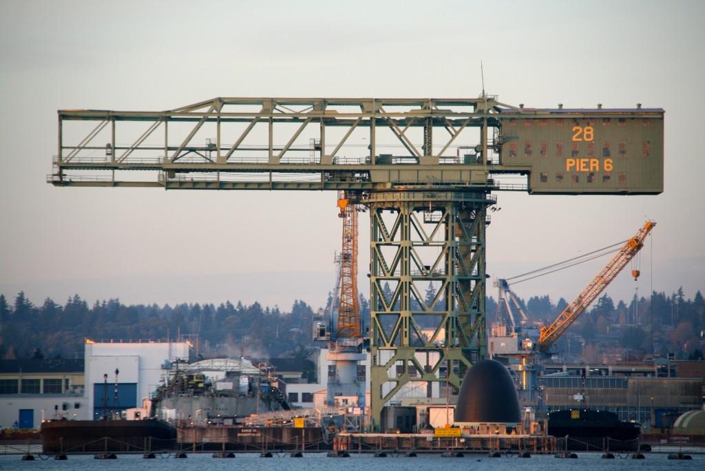 Shipyard Crane