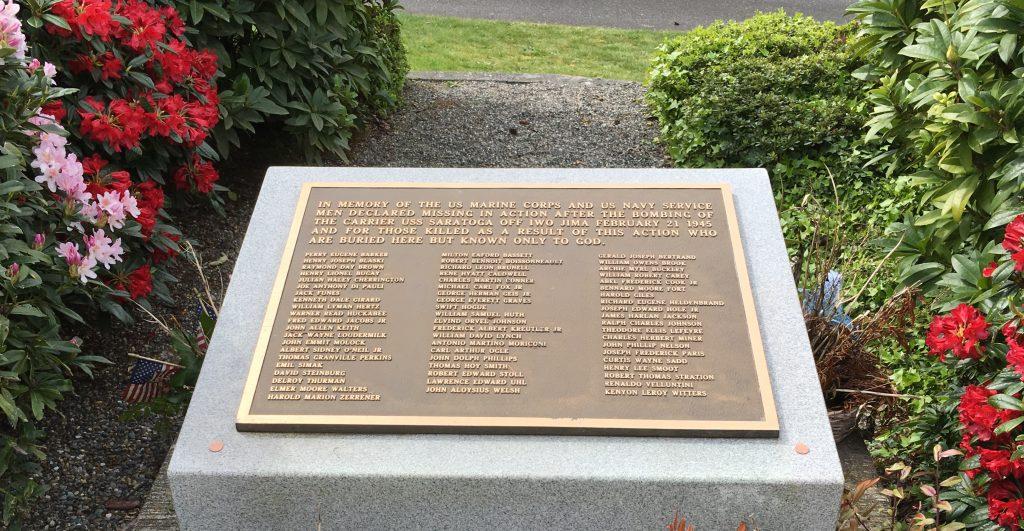 Saratoga Memorial.