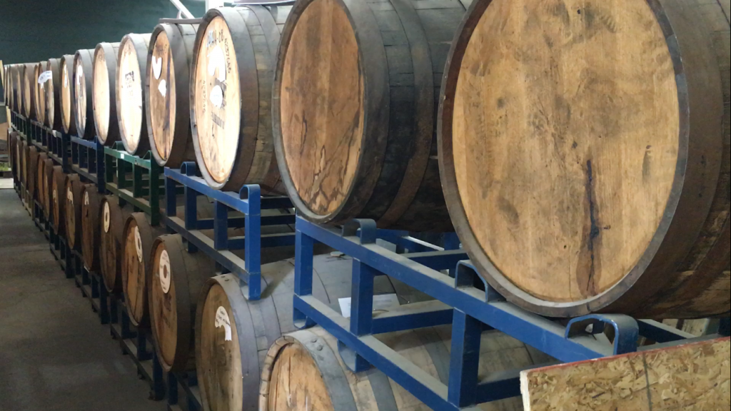 The barrels are in.