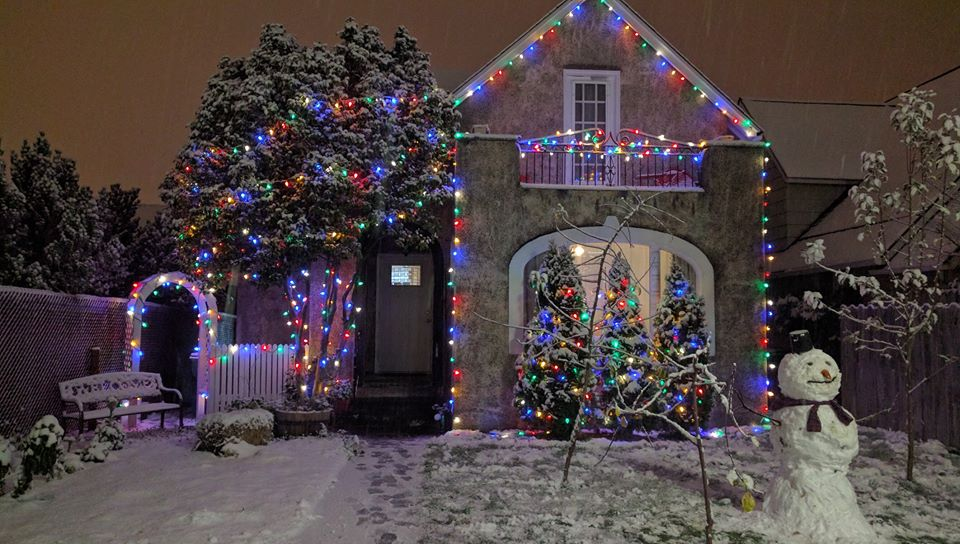 Jeff Coughlin 14 mins · Edited Jeff Coughlin: Our house on Pacific Ave - enough to make a snowman!