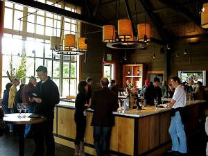 Alpha Omega Winery tasting room