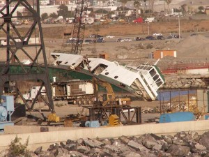 Here's the old Issaquah being scrapped in Ensenada, Mexico, in 2009.