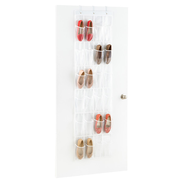 Honey-Can-Do over the door shoe organizer. $12.19