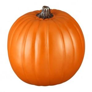 "9"" Craft Pumpkin at Michael's, $8.49."