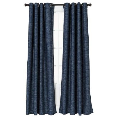 Threshold's Uptown Stripe Light Blocking drape from Target.