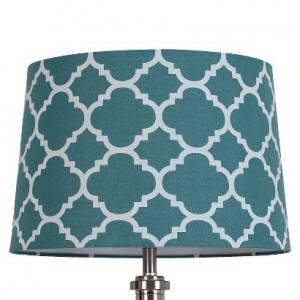 lamp shade flocked ogee target
