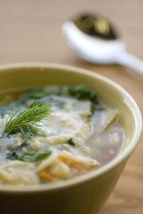 Mediterranean Fennel Soup