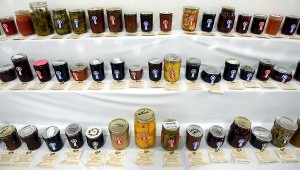 2010 Kitsap County Fair canning entries. Photo by Meegan Reid