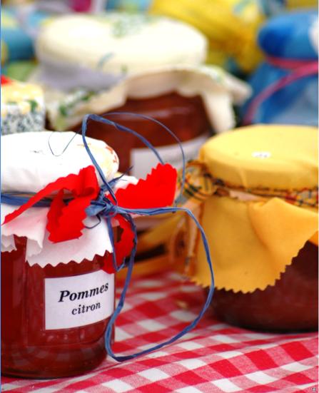Prepared jams and jellies