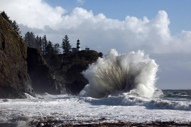 Tropical Island Beach Ambience Sound: WEATHER PHOTOS: Storm Creates Giant Waves On Coast