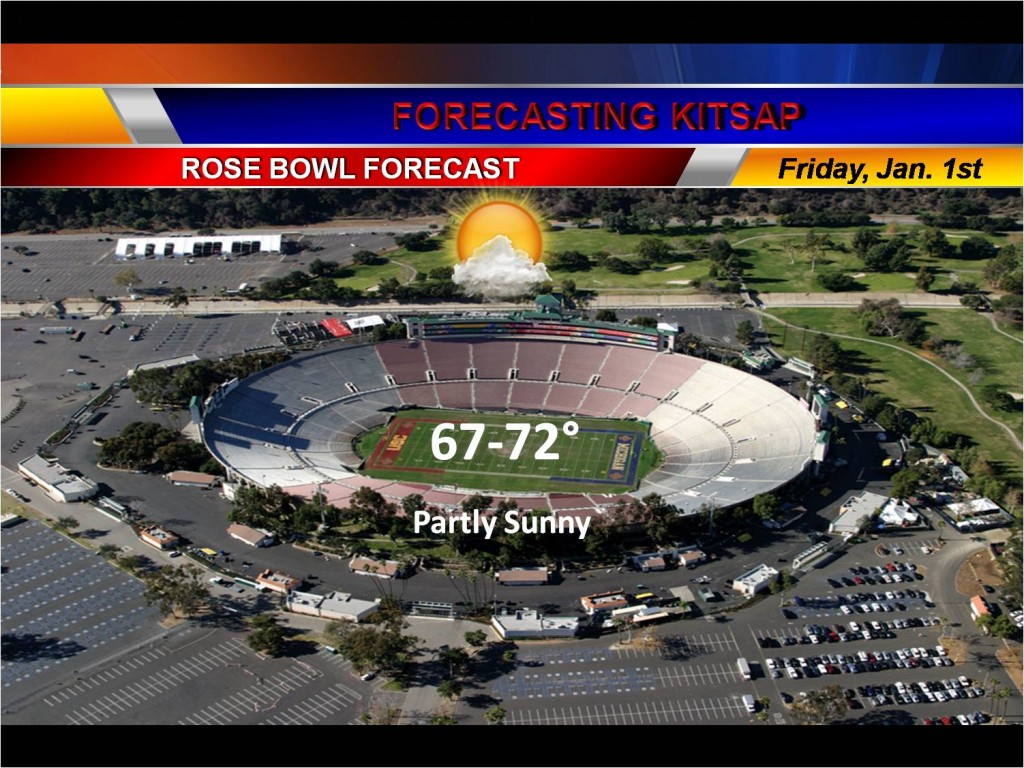 rose bowl forecast