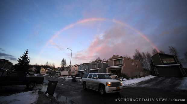 west anchorage rainbow