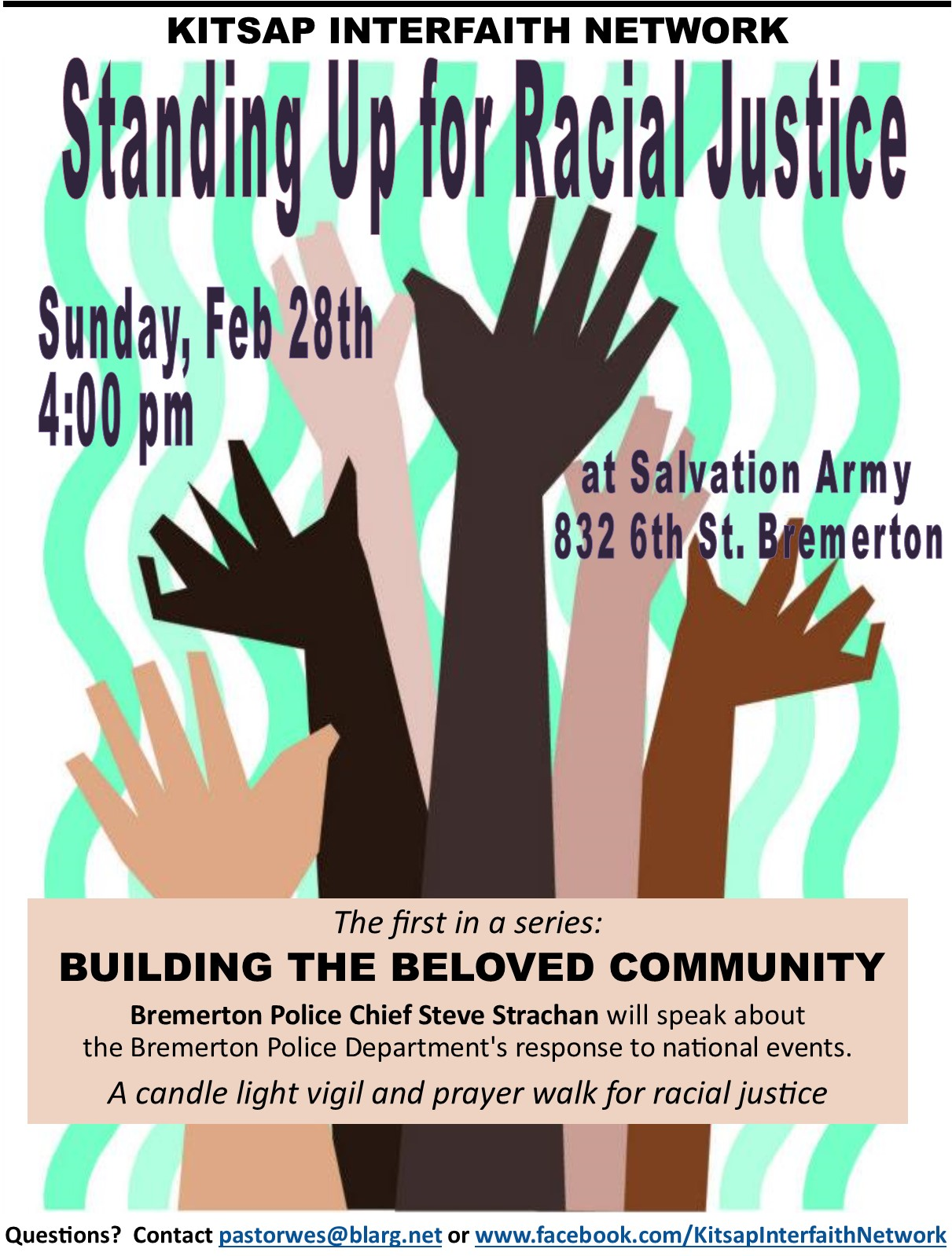 Kitsap Interfaith Network feb 28 event