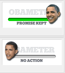 <em>The St. Petersburg Times will measure Obama's promise keeping on its PolitiFact site.</em>