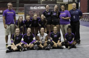 North Kitsap's volleyball team finished second in the 32-team SunDome Volleyball Festival last weekend in Yakima. (Courtesy photo)