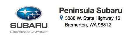 Sponsored by Peninsula Subaru