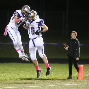 North Kitsap's football team stormed out to a 28-0 lead after the first quarter Friday against Kingston.