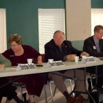 From left, Rep. Christine Rolfes, Rep. Sherry Appleton, Rep. Larry Seaquist, Sen. Derek Kilmer and Rep. Kathy Haigh attended Wednesday's forum.
