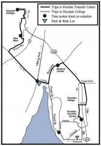 Poulsbo Bus Route No. 44