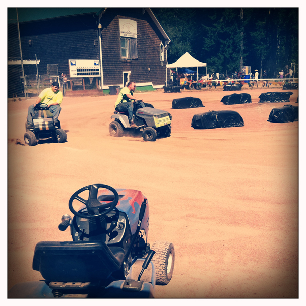 """Lawn Mower Races"" by Meegan M. Reid"