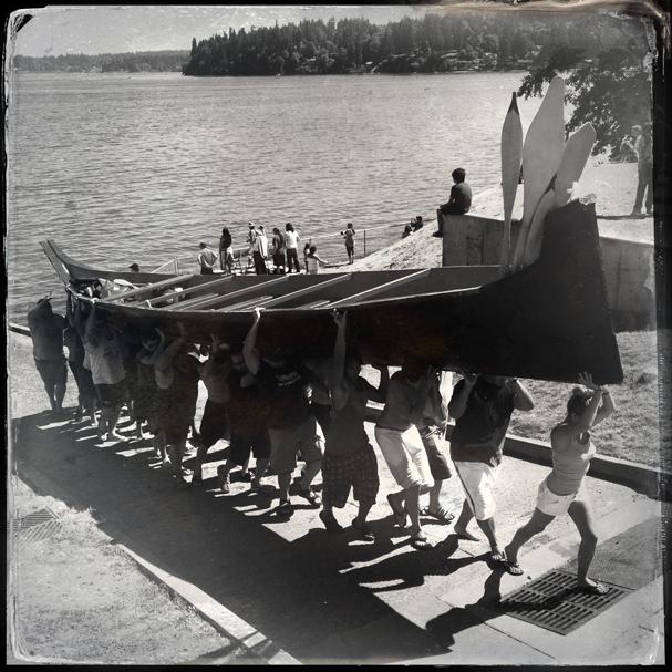 """""""Canoe Landing"""" by Meegan M. Reid"""