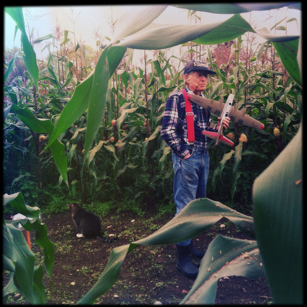 """WWII Vet Gives Tour of Corn Maze"" by Meegan M. Reid"