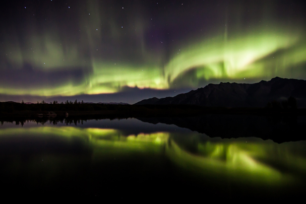 """Aurora Reflection"" by Jake Dalzell"