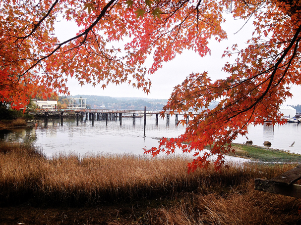 """Port Orchard Waterfront"" by Cyndi Smith"
