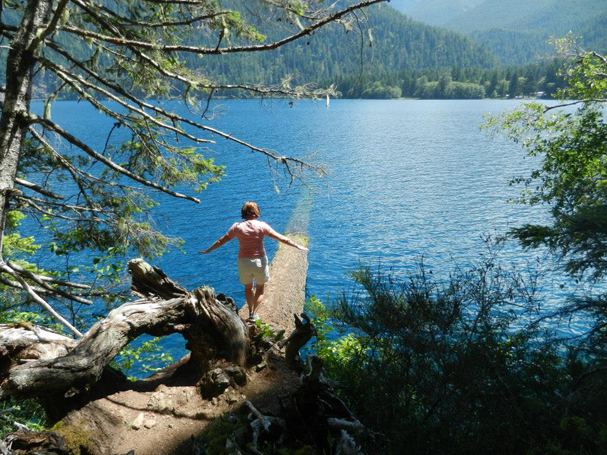"""""""Lake Crescent: July """" by Emily Wilmot"""