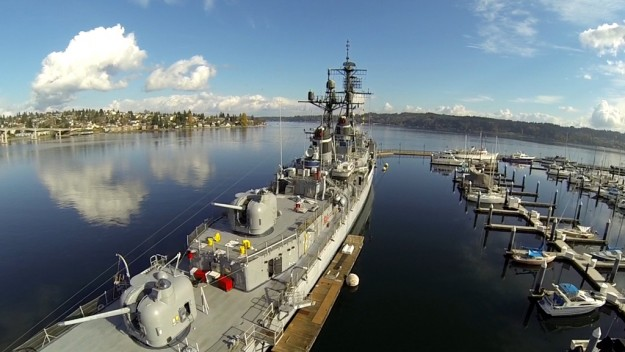 """USS Turner Joy"" by Scott Turchin"