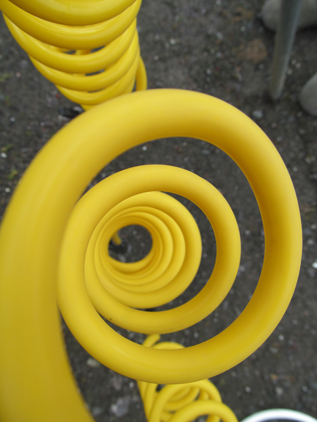 Yellow Coil by Skyler Bakken