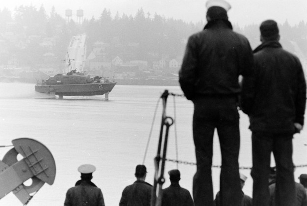 March 8, 1968 USS Tucumcari Bremerton Sun / Richard Ellis