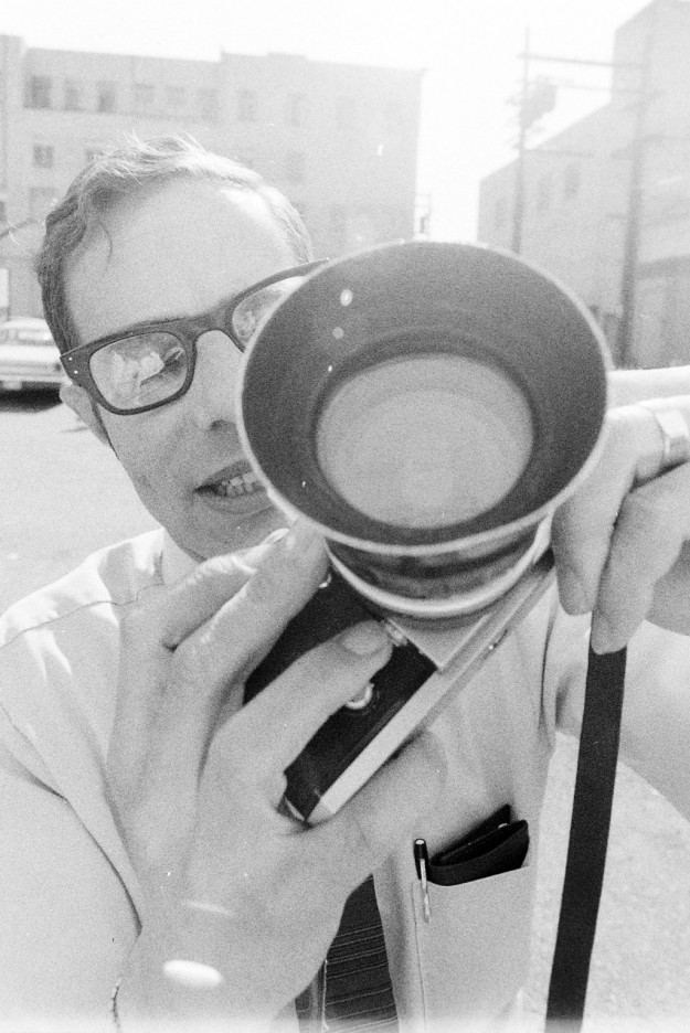 May 10, 1972 CAM Bremerton Sun / Richard Ellis **Note from Meegan: while the negative sleev only said CAM, I am guessing that this is actually a portrait of Richard Ellis's co-photographer Cliff McNair Jr.**
