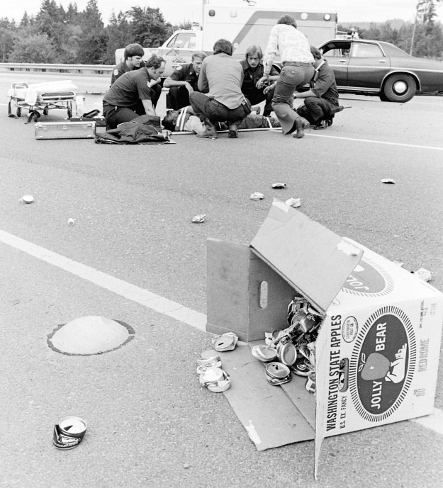 June 21, 1977 Freeway Accident Bremerton Sun