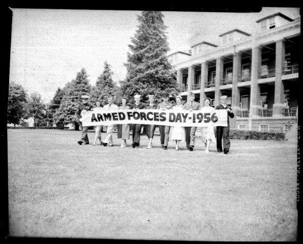 Armed Forces Day Parade 1956
