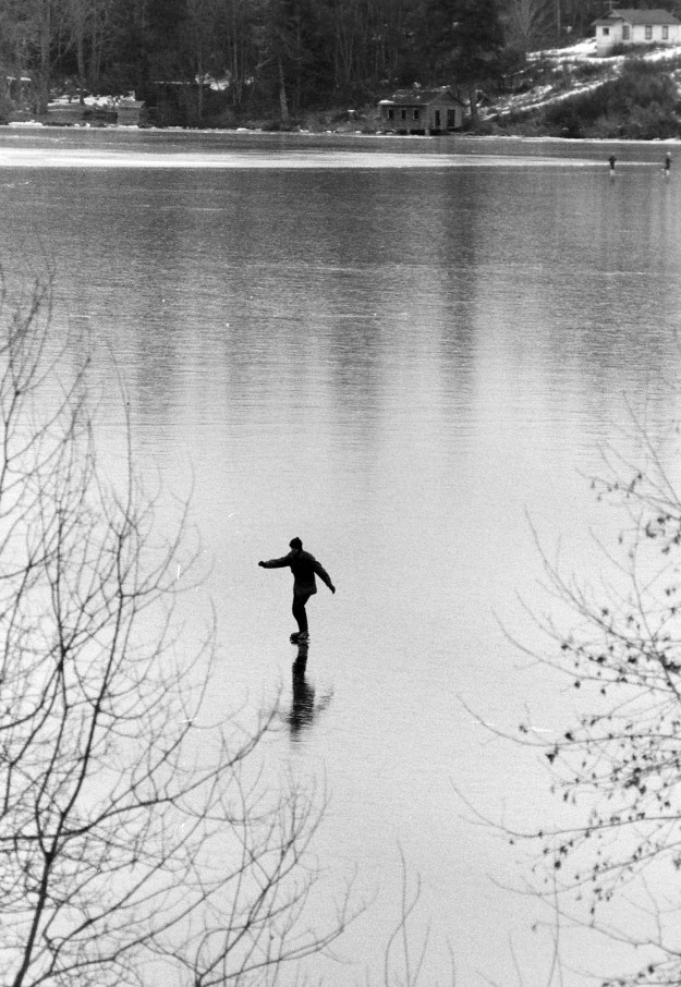 January 27, 1969 Frozen Over Kitsap Lake Richard Ellis / Bremerton Sun