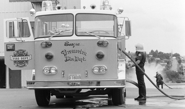 June 7, 1973 BFD Pumper Truck Cliff McNair Jr / Bremerton Sun