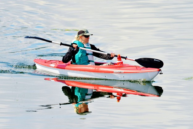 """Kayaking at Silverdale Waterfront"" by Jack C. Harpel Reflections always add a little something extra to kayak photos and Jack captured a lovely and vibrant one here."