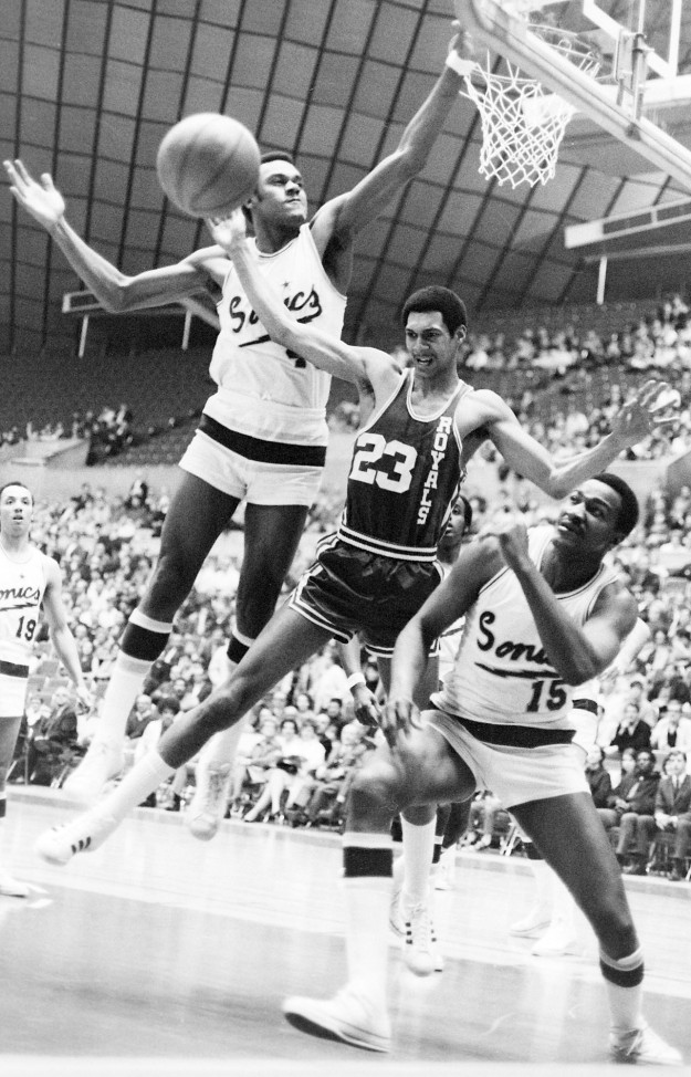 03/04/69 Seattle Sonics Richard Ellis / Bremerton Sun